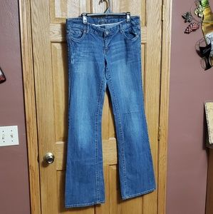Vanity Jeans - Vanity Jeans Size 32 Long Bling / Rhinestones